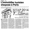 l'immobilier tunisien s'expose a Paris